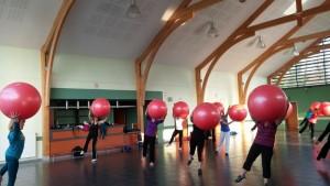 gym ballons