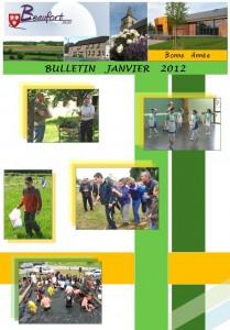 bulletin janvier 2012